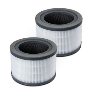 2Pcs Purifier Filter For LEVOIT Vista 200 3-In-1 3 Stages Filtration System Pack