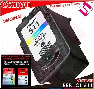 TINTA-COLOR-CANON-CL-511-ORIGINAL-CARTUCHO-TRICOLOR-IMPRESORA-CL-511-ECONOMICO