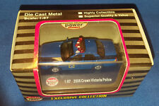 HO SCALE CROWN VICTORIA NEW YORK STATE POLICE TROOPER VEHICLE CAR NEW IN BOX