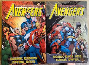 Avengers Assemble oversized HC vol 4 and 5 set OOP RARE 1st Marvel WandaVision