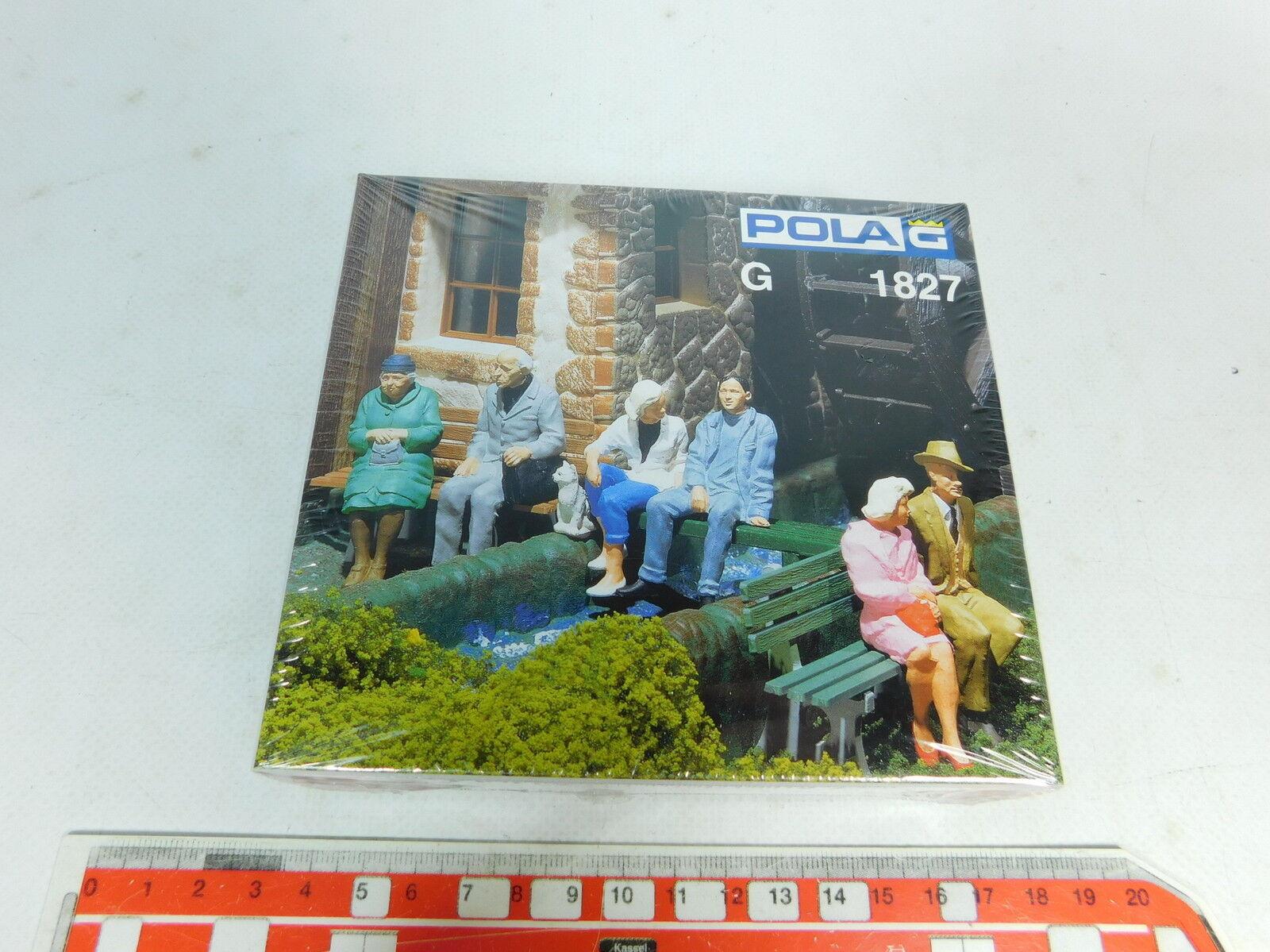 Ax563-0, 5  Pola  Faller  Traccia G 1827 figure/persone seduti, Neuw + OVP