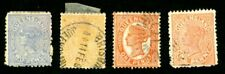 QUEENSLAND 1882-1917 SCOTT 66, 67, 90, 104, 104, 105, 109, 113-114, 116 STAMPS