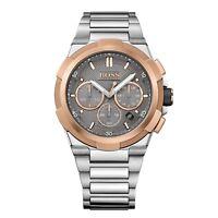 Hugo Boss 1513362   Men's Chronograph Watch   Silver & Rose Gold   RRP £650