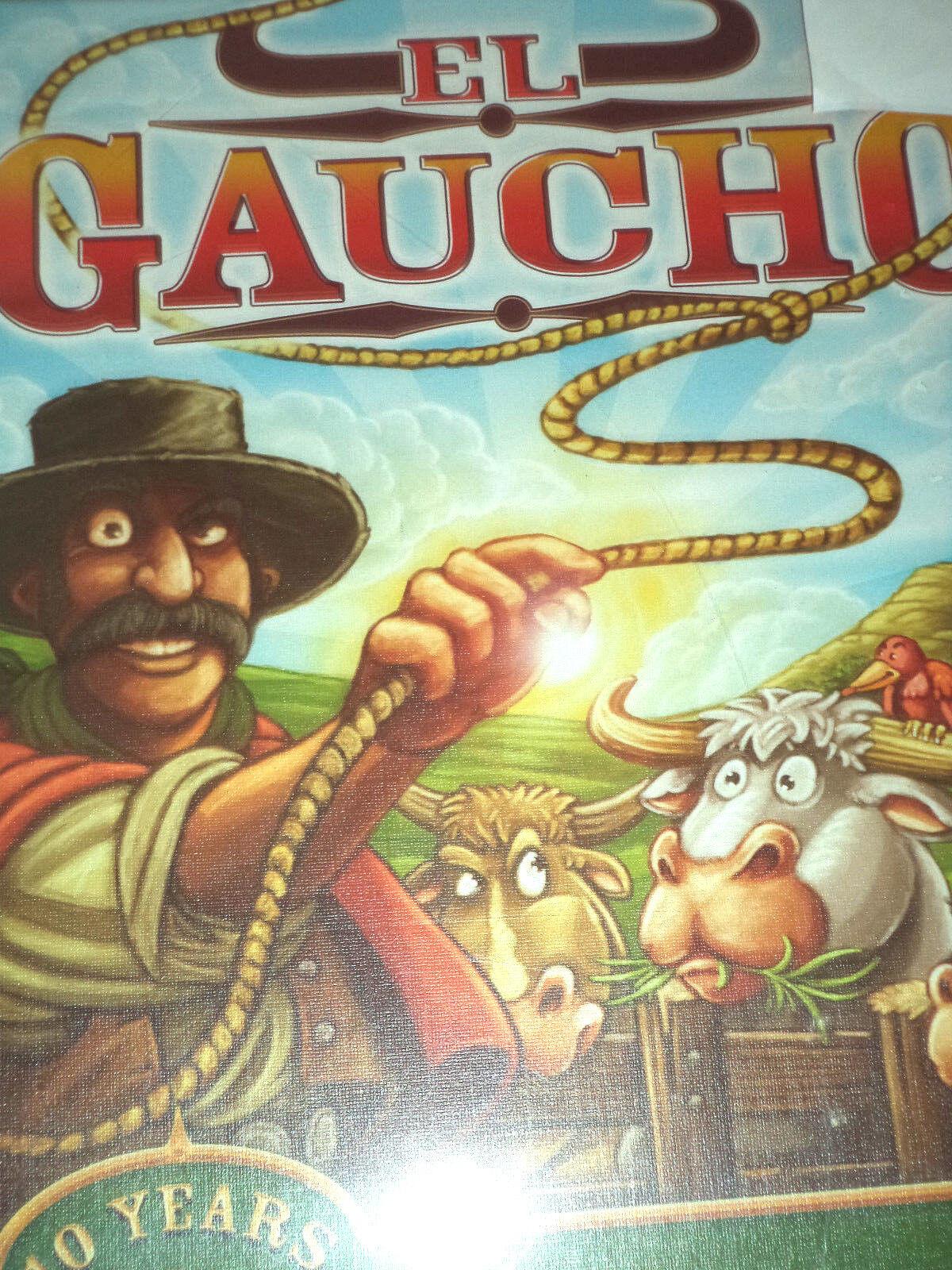 El Gaucho - argentoum Games Western Board Game New