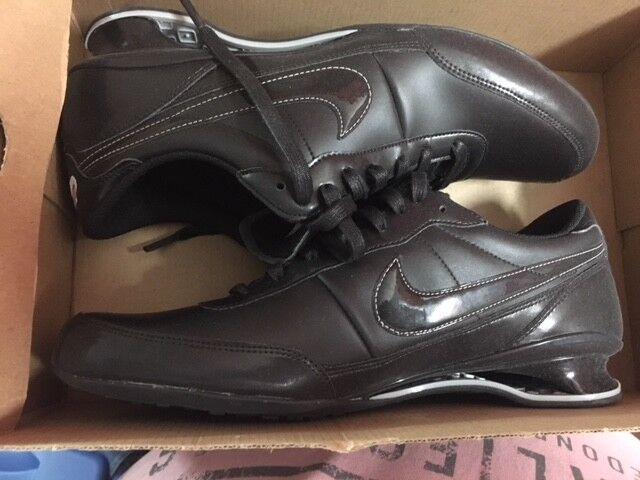 NIKE Shox Vital R4 NZ EU Neu Gr:42 US:8,5 Metallic Schwarz Metallic US:8,5 Leder Limited Schuhes a77a54