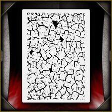 """Grunge 5"" Airbrush Stencil Template Airsick"