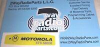 Motorola Xts5000 R Yellow Radio Housing Nameplate 3m Sticker (vhf Uhf 800)