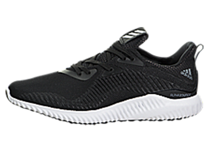 BW0538 Alphabounce 1 Hombre Mujer Running Zapatos Tenis Negro