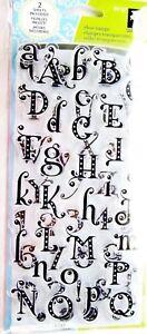 Gemstone-Alphabet-Clear-Acrylic-Stamp-Set-by-Inkadinkado-Stamps-99107-NEW