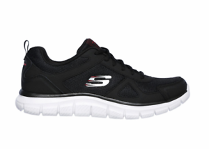 1dd4e73ccb5a5 SKECHERS 52631/BKRD TRACK SCLORIC Mn´s (M) Black/Red Mesh Athletic ...