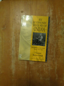 An Economic History of India by Dietmar Rothermund SC (1993)