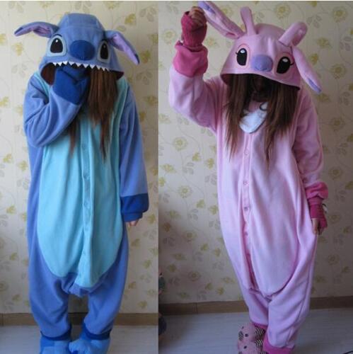 Unisex Adult Costume Animal Kigurumi Pajamas Stitch Onesie88