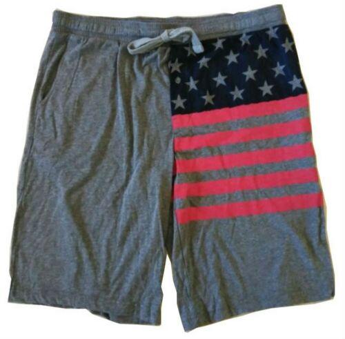 4th of July USA Flag Active Utility Shorts Boxer Brief Pajama Sleep ZJ541KGEN