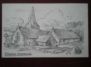 POSTCARD CORNWALL TREBETHERICK  ST ENODOC PENCIL SKETCH - Tadley, United Kingdom - POSTCARD CORNWALL TREBETHERICK  ST ENODOC PENCIL SKETCH - Tadley, United Kingdom