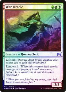 War Oracle FOIL Magic Origins NM-M White Uncommon MAGIC GATHERING CARD ABUGames