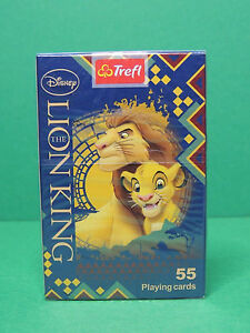 Charitable Jeu De 52 Cartes + 3 Jokers Le Roi Lion Disney Playing Cards The King Lion Trefl