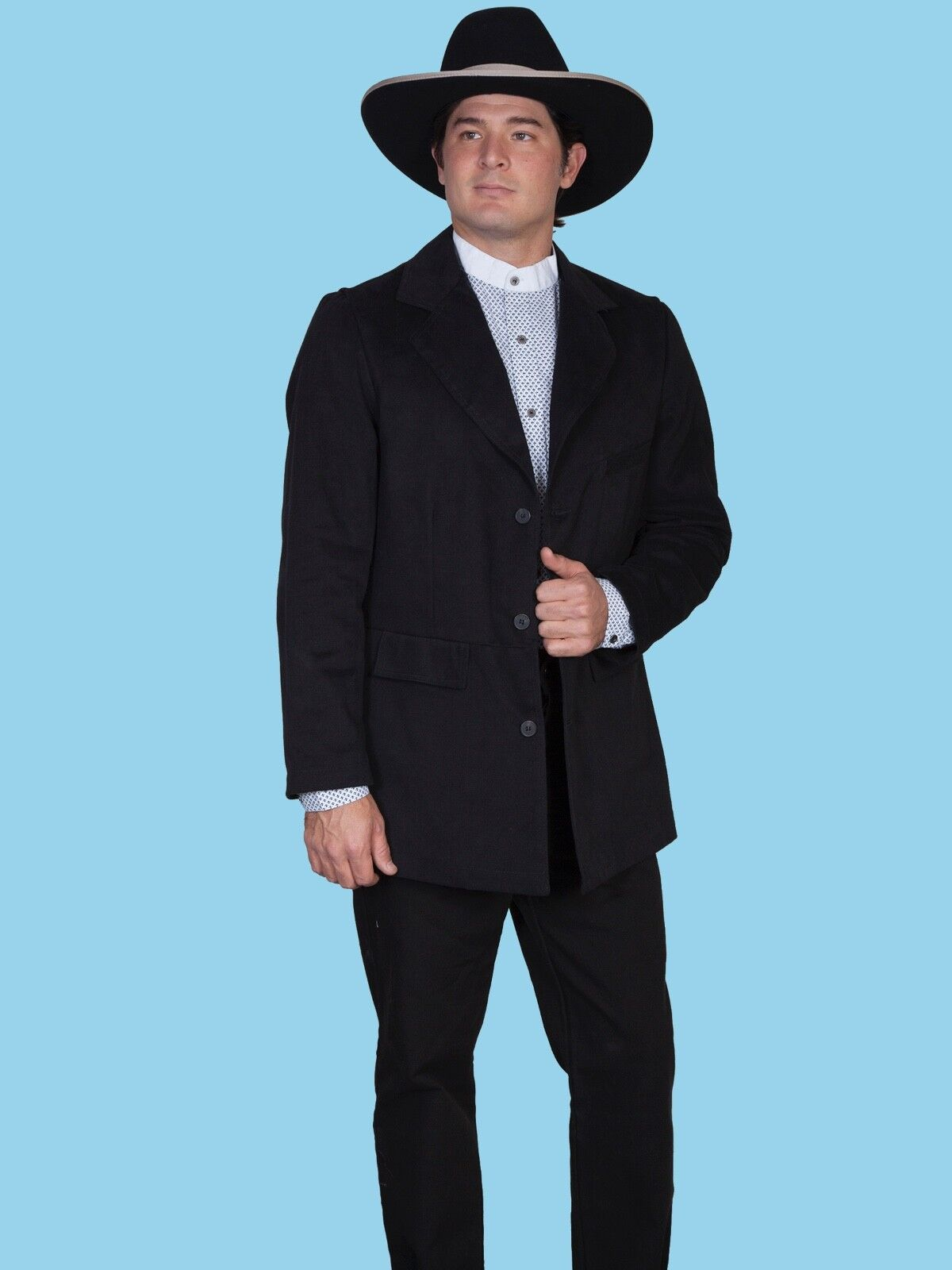 WAHMAKER by SCULLY OLD WEST COWBOY CLOTHING TOWN COAT - USA MADE