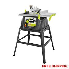 Kobalt kt1015 15 amp 10 in carbide tipped table saw ebay 15 amp 10 portable table saw with stand 24t carbide tipped blade hex keys new greentooth Choice Image