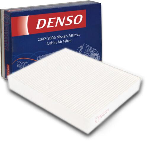 Denso Cabin Air Filter for Nissan Altima 2.5L L4 3.5L V6 2002-2006 HVAC sa