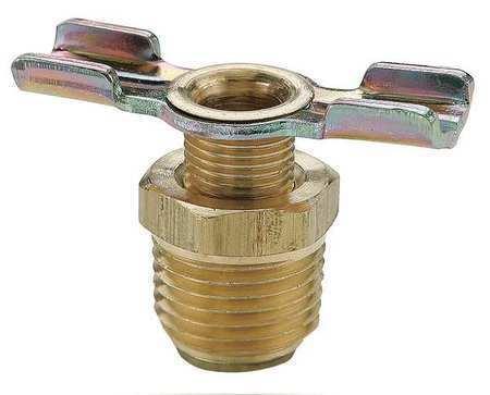 """PARKER DC604-4 Brass Drain Cock Ball Valve Inline 1//4/"""""""