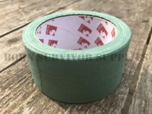 BRITISH-ARMY-SCAPA-FABRIC-SNIPER-TAPE-GREEN-12M-ROLL-Camo-Camouflage-Cloth-Wrap