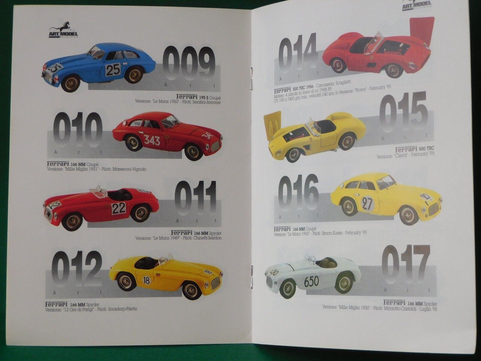 Art Model nº 2 1995 catálogo modelo modelo modelo auto catálogo Catalogue maquetas de coches 4d949c