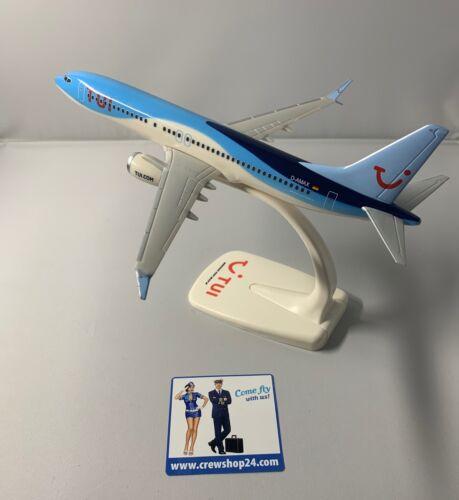 TUIfly Boeing 737 MAX 8 // 1:200 Incl. Pied de support nouveau neuf dans sa boîte d-Amax