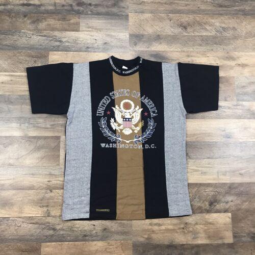Vintage 90s Washington DC Tourist T Shirt Made In… - image 1