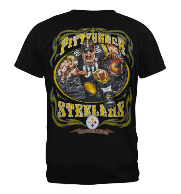Liquid Blue Pittsburgh Steelers Running Back T-Shirt---Brand New w/Tags