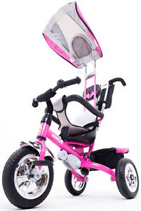 a09737d26f9 Kiddo 2016 Pink Smart Design 4-in-1 Childrens Tricycle Kids Trike 3 ...