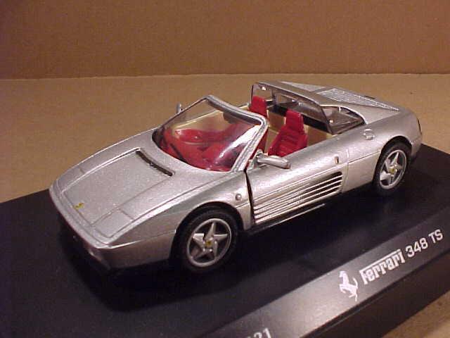 Detalj bils konste.121  43 de Metal Ferrari 348 T Targa Techo,Puertas