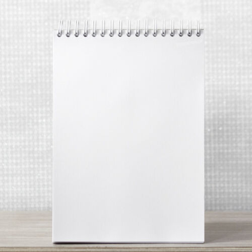 Spirale A5 Sketch Pad Plain Blank 90gsm Papier Blanc Dessin Art Pen Livre journal