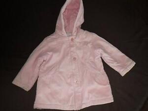 Manteau-Rose-avec-Capuche-Jacadi-2-ans-Automne-Hiver