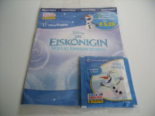 1x multi-pack top!!! Panini Frozen-Frozen-English is Fun