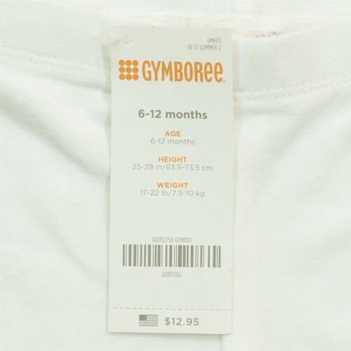 Gymboree Baby Girl Infant Toddler Clothes Multiple Sizes White Stretch Shorts