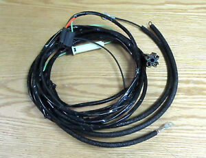 on a 1955 chevy pickup wiring 1957 chevy overdrive wire harness 6 cyl , new ** usa made ...