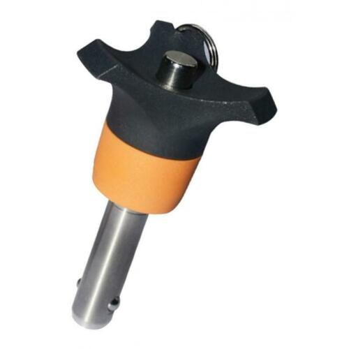Quick Release Ball Lock Pin Tighten Plug Pin Dia 6mm Metalworking Tools Accs