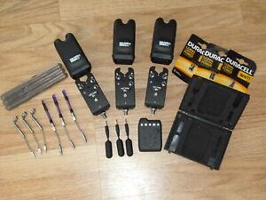 Delkim-EV-Plus-Bite-Alarms-x-3-Purple-LEDS