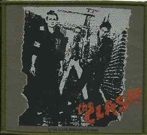 CLASH-first-album-2004-WOVEN-SEW-ON-PATCH-official-merchandise
