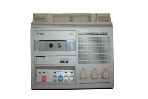 Philips  LFH-0505//10 505 Transcription System Wiedergabegerät Minikassetten #90