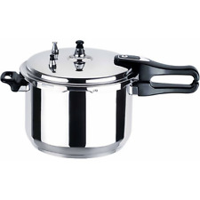 5 LITRE PRESSURE COOKER ALUMINIUM 5L KITCHEN CATERING HOME BRAND NEW /HQ Brand