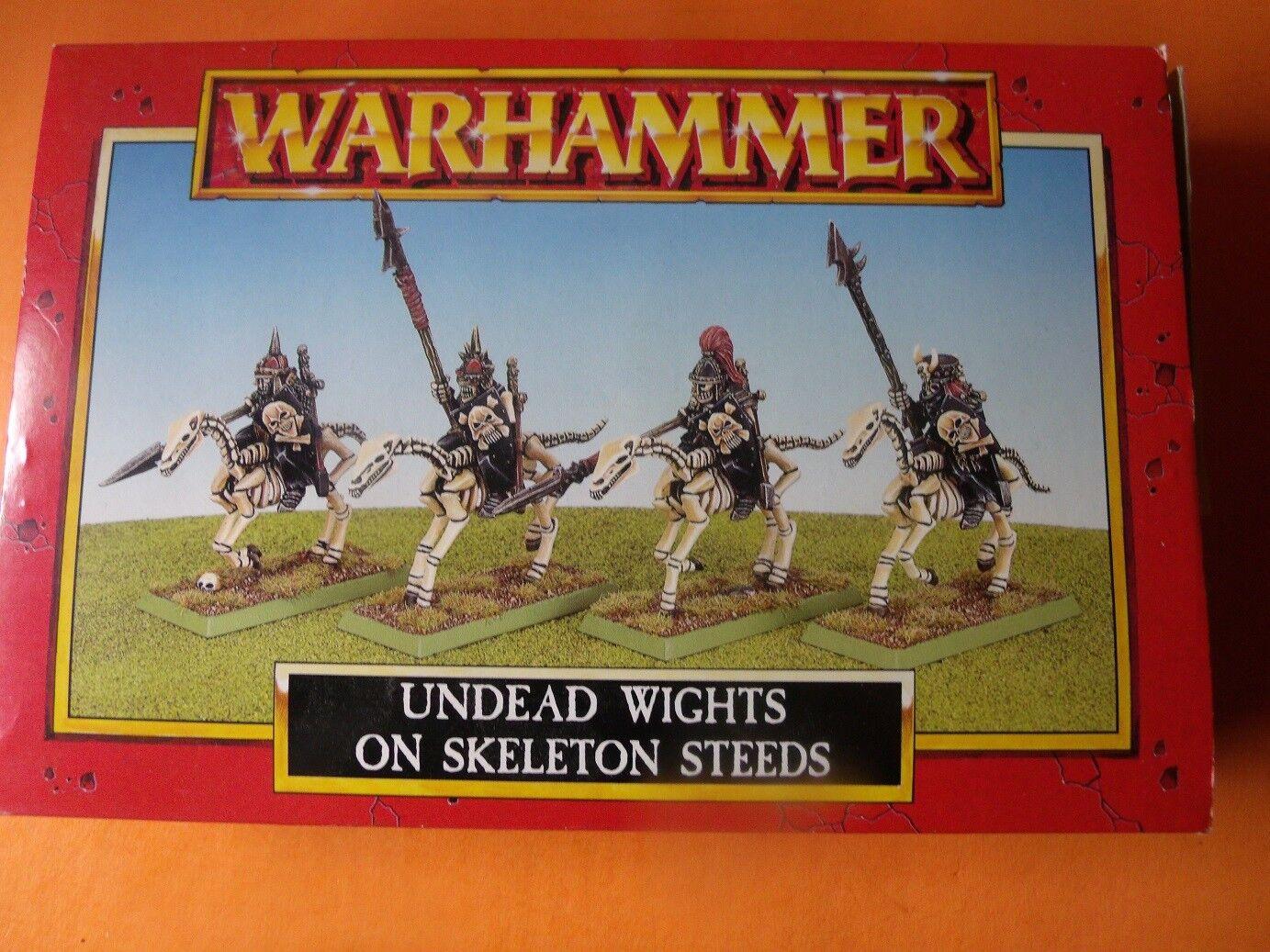 (C1252) WARHAMMER UNDEAD WIGHTS OF SKELETON STEEDS BOX SET OOP