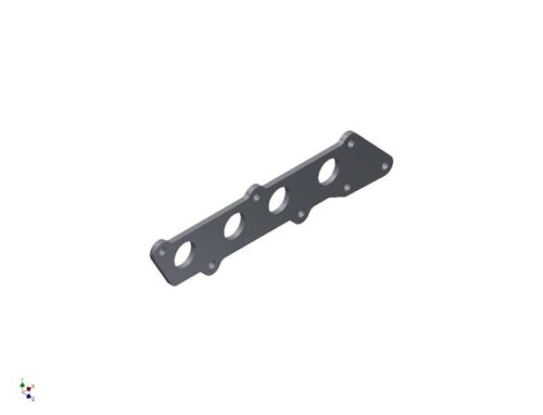 Ford 1.8// 2.0// 2.3 Duratec Exhaust Manifold Flange Plate MILD STEEL