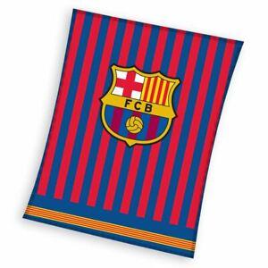 Fc-Barcelona-Luxe-Couverture-Polaire-Officiel-Football-Garcons-Chambre
