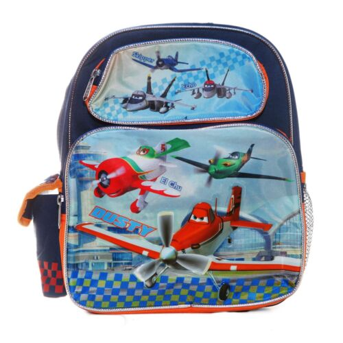 """Disney Cars Planes School Small 12/"""" inches Backpack for Kids Licensed Product"""