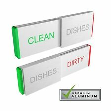 Dishwasher Magnet Clean Dirty Sign - Premium Kitchen Gadgets fo... Free Shipping