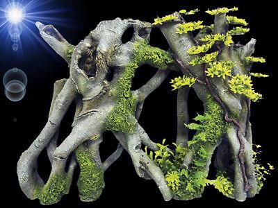 Top Aquarium Deko 50 Cm Mangroven Wurzel Xxl Hohle Dekoration Zubehor Ebay