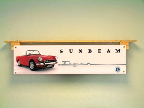 SUNBEAM TIGER BANNER workshop garage Classic Car Display use