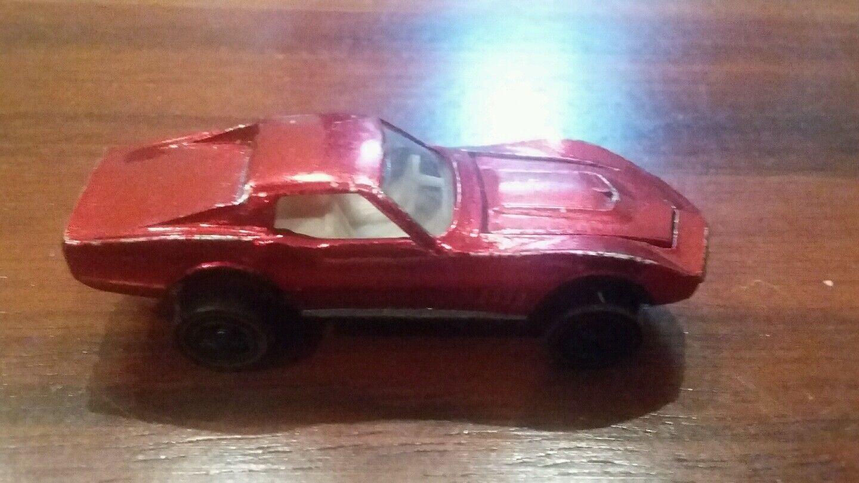 Hot Wheels Redline Custom Corvette 1968 Mattel USA