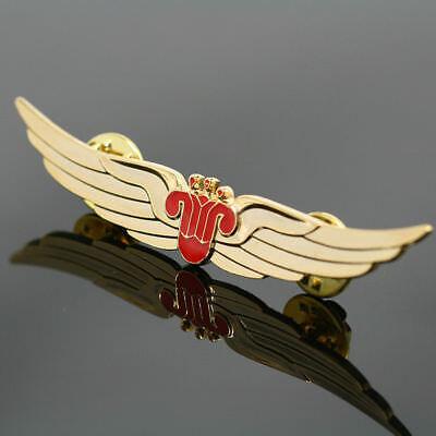 6PCS China Southern Airlines Crew Stewardess Wings Badge Hainan Pilot Pin Emblem